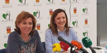 activa almoradi alcaldesa María Gómez y María Quiles