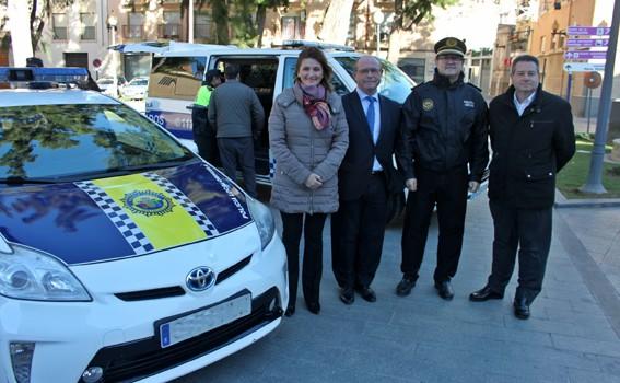 activa orihuela vehículos Policía Local