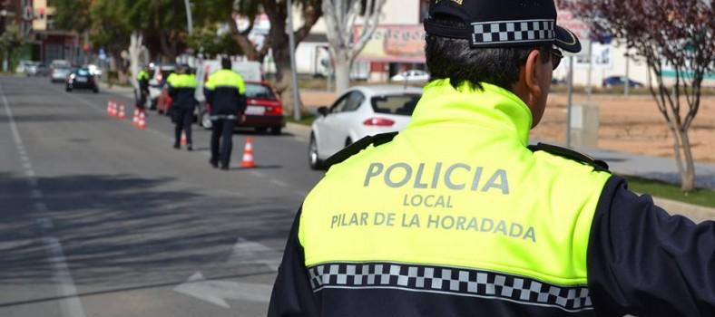 pilar horadada policía local