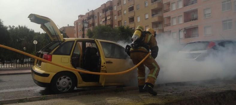 bomberos almoradi coche