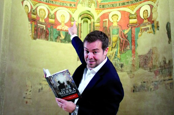 Javier Sierra y Fuego Invisible en MNAC