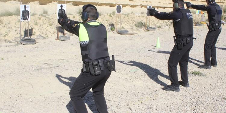 activa rojales policia local tiro