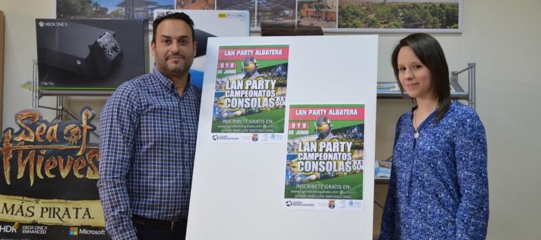 activa albatera lan party