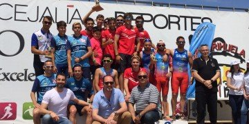 activa orihuela triatlon Foto podio equipos masculino