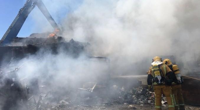 orihuela bomberos desguace