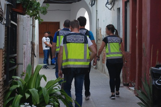 orihuela policia nacional operacion antidroga