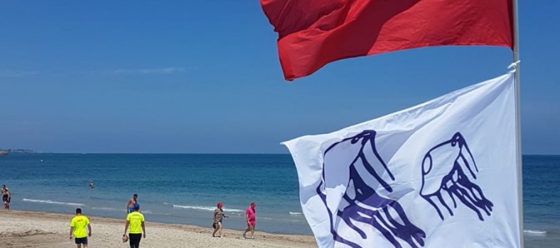 activa Pilar bandera roja carabela