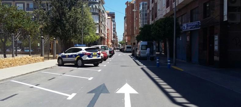 activa orihuela Cambio estacionamiento Calle La Huerta