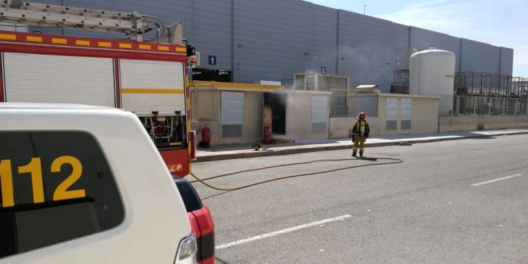 bomberos incendio san isidro
