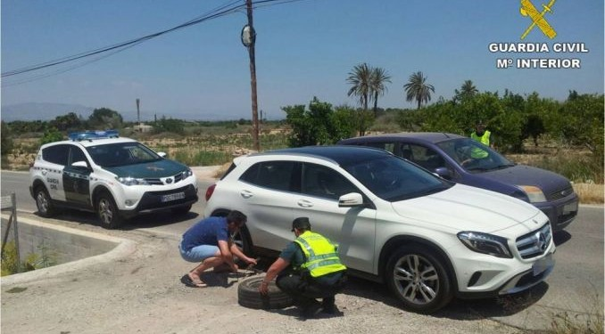 guardia civil torrevieja coches