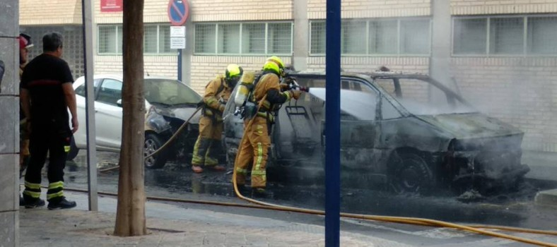 orihuela policia local incendio
