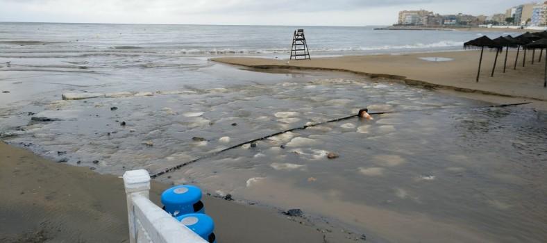 activa torrevieja daños playas