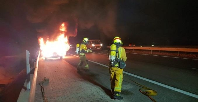 bomberos intoxicado
