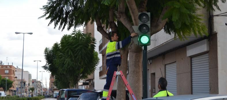 Semaforo Albatera LED