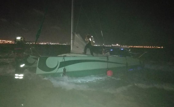 bomberos catamarán torrevieja